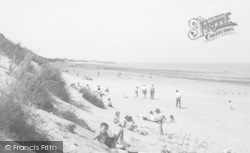 Chapel St Leonards, Beach c.1955