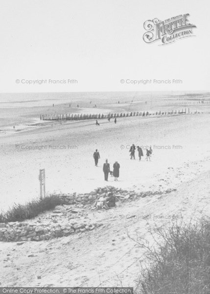 Photo of Chapel St Leonards, Beach From The Sandhills c.1955