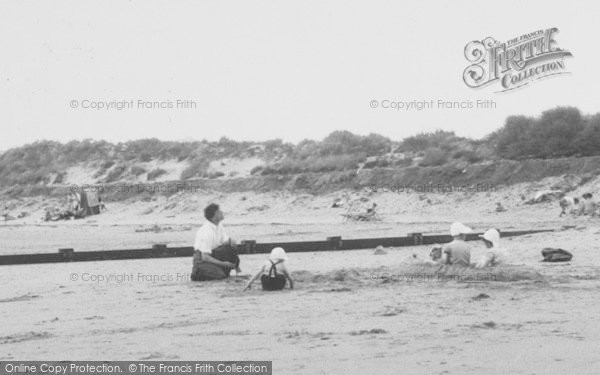 Photo of Chapel St Leonards, Beach Fun c.1955