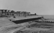 Chapel St Leonards, Beach Huts, The Promenade c.1955