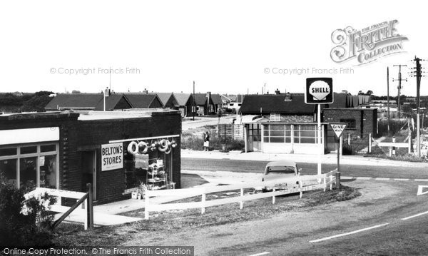 Photo of Chapel St Leonards, Beltons Auto Services, Chapel Point c.1965