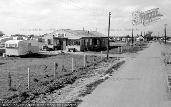 Photo of Chapel St Leonards, Benvenute Caravan Park c.1960