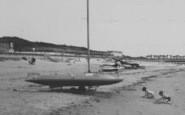 Chapel St Leonards, Boats On The Beach c.1960