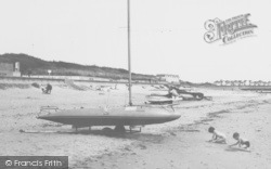 Chapel St Leonards, Boats On The Beach c.1960