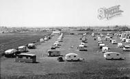 Chapel St Leonards, Caravan Camp c.1955