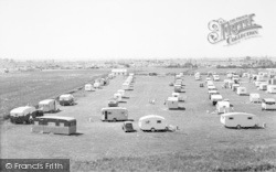 Chapel St Leonards, Caravan Camp c.1955