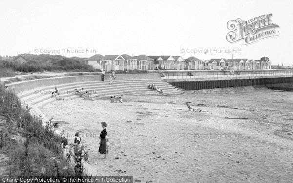 Photo of Chapel St Leonards, Chapel Point Beach c.1955