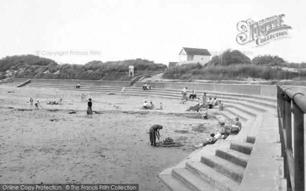 Photo of Chapel St Leonards, Chapel Point Beach c.1955