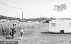 Chapel St Leonards, Entrance To Camping Grounds c.1955