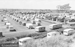 Chapel St Leonards, Greenways Caravan Site c.1960