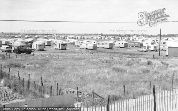 Photo of Chapel St Leonards, Happy Days Caravan Site c.1960