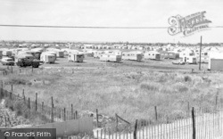 Chapel St Leonards, Happy Days Caravan Site c.1960