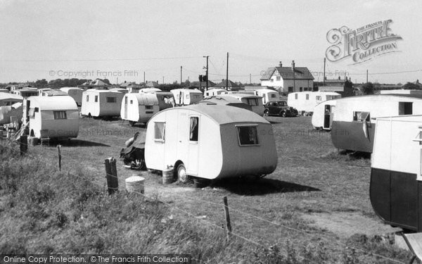 Photo of Chapel St Leonards, Merryfield Camping Ground c.1955