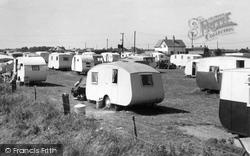 Chapel St Leonards, Merryfield Camping Ground c.1955