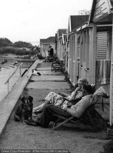 Photo of Chapel St Leonards, North Point Chalets c.1955