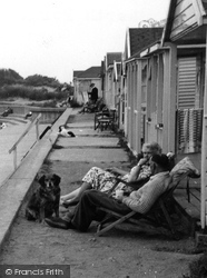 Chapel St Leonards, North Point Chalets c.1955