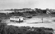 Chapel St Leonards, Point Car Park And South Beach c.1955