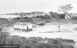 Chapel St Leonards, Point Car Park And South Beach c.1955