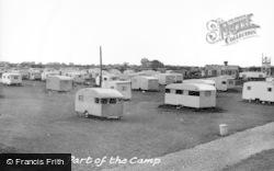 Chapel St Leonards, Robin Hood Caravan Camp c.1955