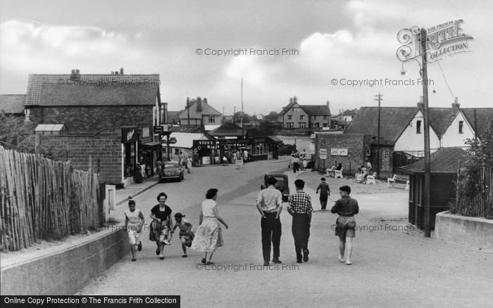 Photo of Chapel St Leonards, Roundabout From Top Of Pullover c.1955