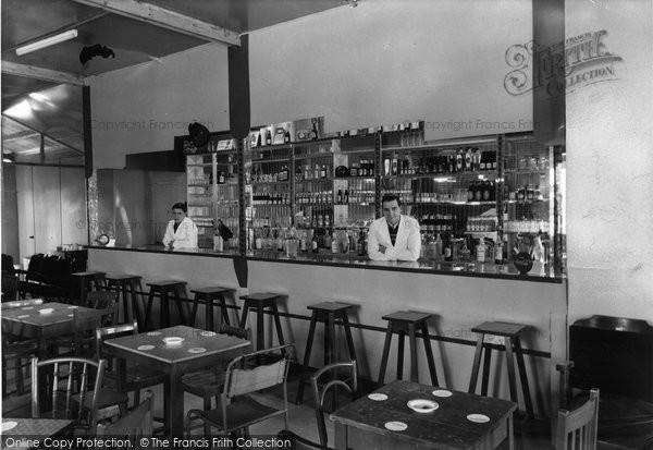 Photo of Chapel St Leonards, The Bar, Benvenute Social Club c.1960