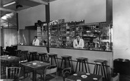 Chapel St Leonards, the Bar, Benvenute Social Club c1960