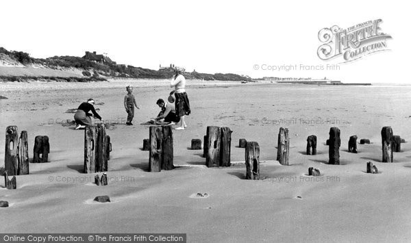 Photo of Chapel St Leonards, The Beach c.1955