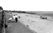Chapel St Leonards, The Beach c.1960