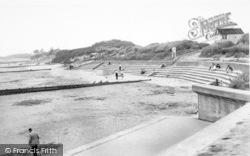 Chapel St Leonards, The Beach Chapel Point c.1955