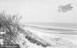 Chapel St Leonards, The Beach From The Dunes c.1955