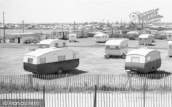 Chapel St Leonards, The Caravan Sites c.1960