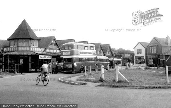 Photo of Chapel St Leonards, The Esplanade c.1955