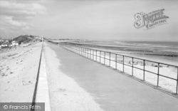 Chapel St Leonards, The New Promenade c.1960