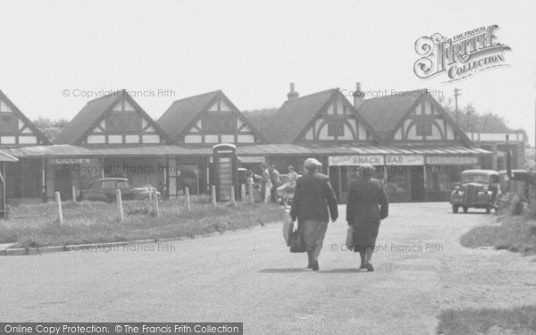Photo of Chapel St Leonards, The Parade, Going Shopping c.1955