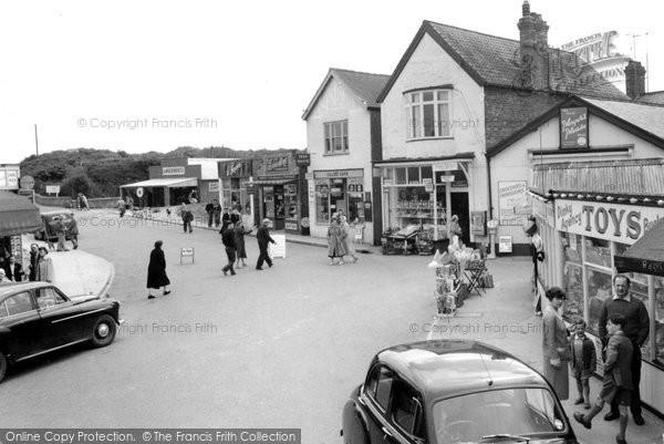 Photo of Chapel St Leonards, The Village c.1959