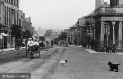 Donkey Cart, Fore Street 1907, Chard