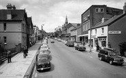 Chard, Fore Street c.1965