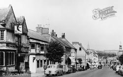 High Street And Cornhill c.1960, Chard