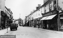 Holyrood Street c.1960, Chard
