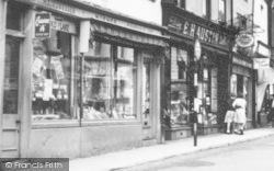 Holyrood Street Shops c.1960, Chard
