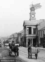 Horse And Carriage In Fore Street 1907, Chard