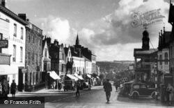 Chard, Main Street c.1940