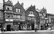Chard, Old Houses, Fore Street 1907