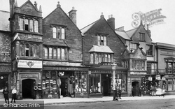 Old Houses, Fore Street 1907, Chard