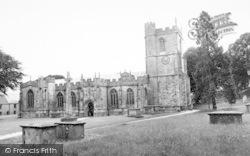 Chard, Parish Church c.1960
