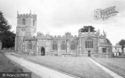 Chard, Parish Church Of St Mary c.1965
