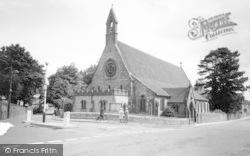 Chard, Parish Church Of The Good Shepherd c.1965