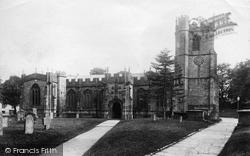 St Mary's Church 1907, Chard