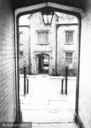 Chard, The Almshouses c.1960