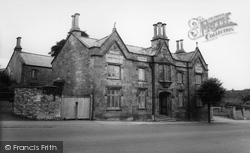 The Almshouses c.1965, Chard